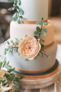 david austin rose wedding cake 2